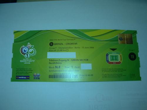 「ワールドカップ・チケット」